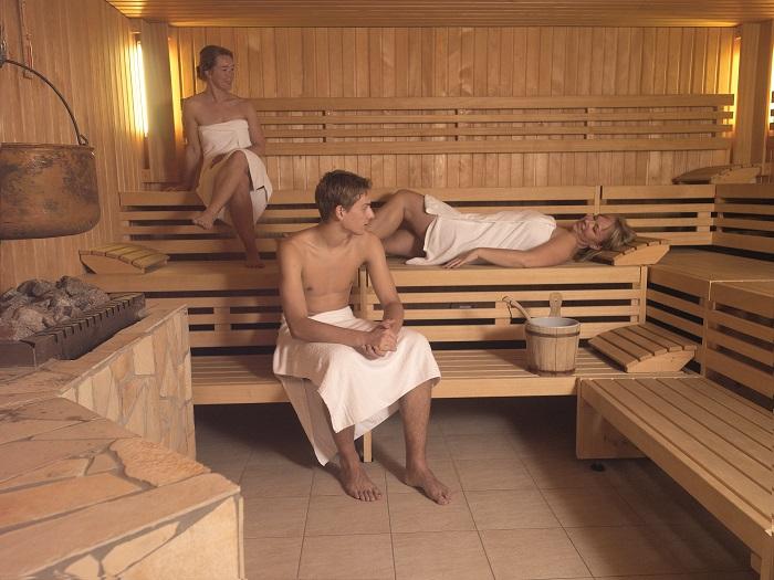 Finse sauna bij Fontana Nieuweschans