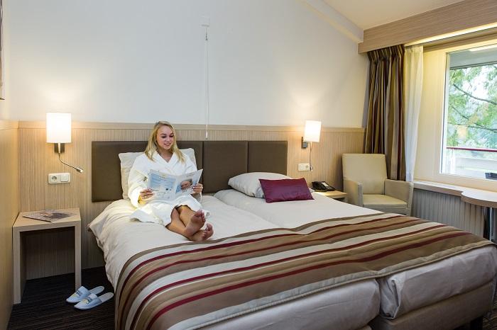 Hotelkamer bij Resort Fontana Nieuweschans