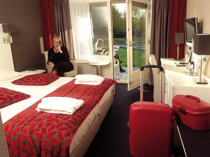 Hotelkamer bij Fontana Nieuweschans