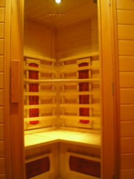 Blokhut sauna 5 mei