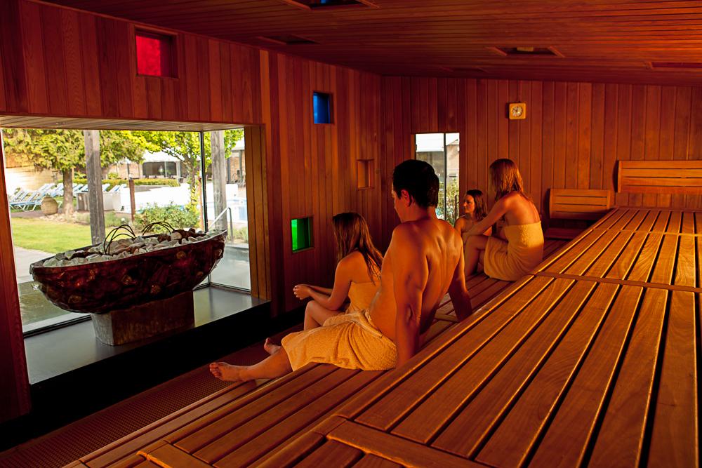In de sauna bij SpaSense