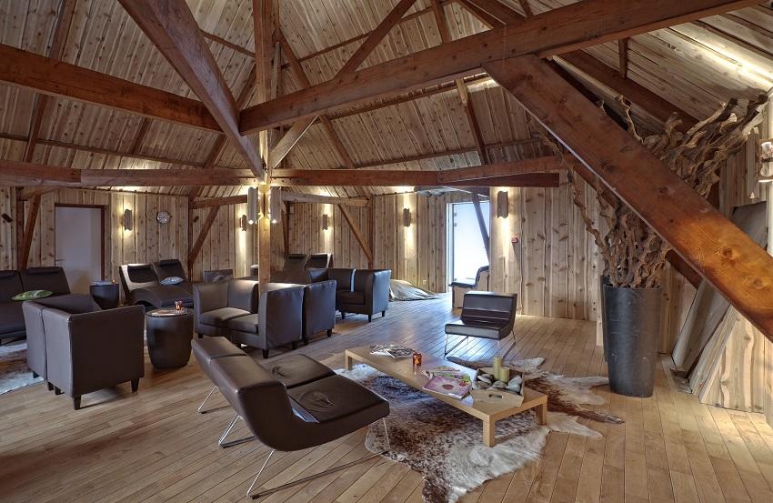 Sauna Loppersum relaxruimte