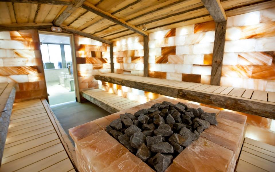 Zoutsteen sauna
