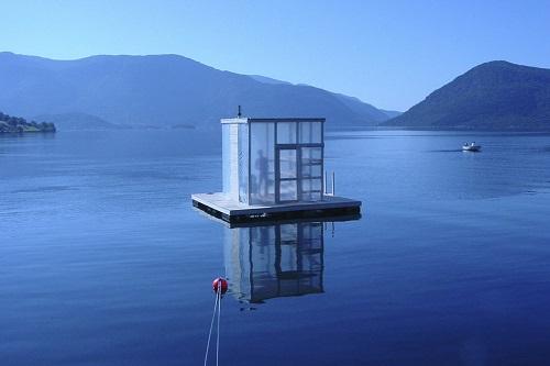 Floating sauna Rosendahl