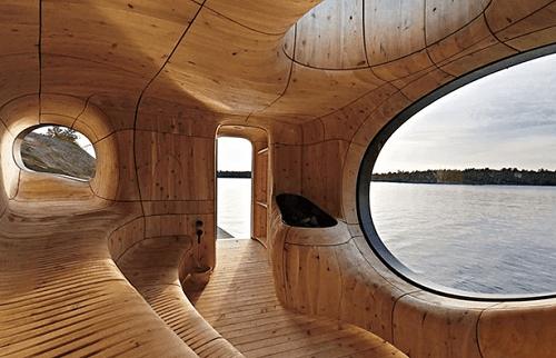 Rocky Shores sauna