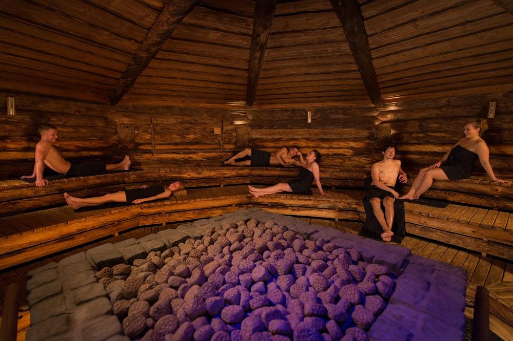 Sauna bij Elysium