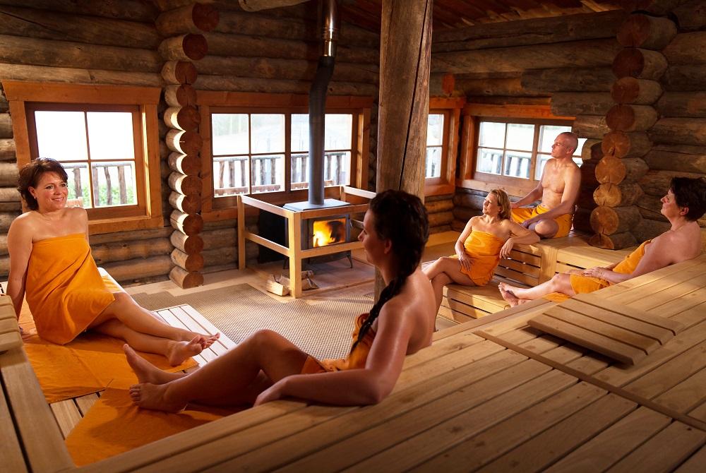 Wild sauna bij de Veluwse Bron