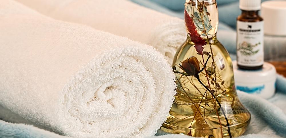 Aromas in badkamer gebruiken