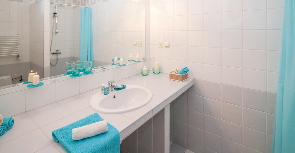 Producten in de badkamer
