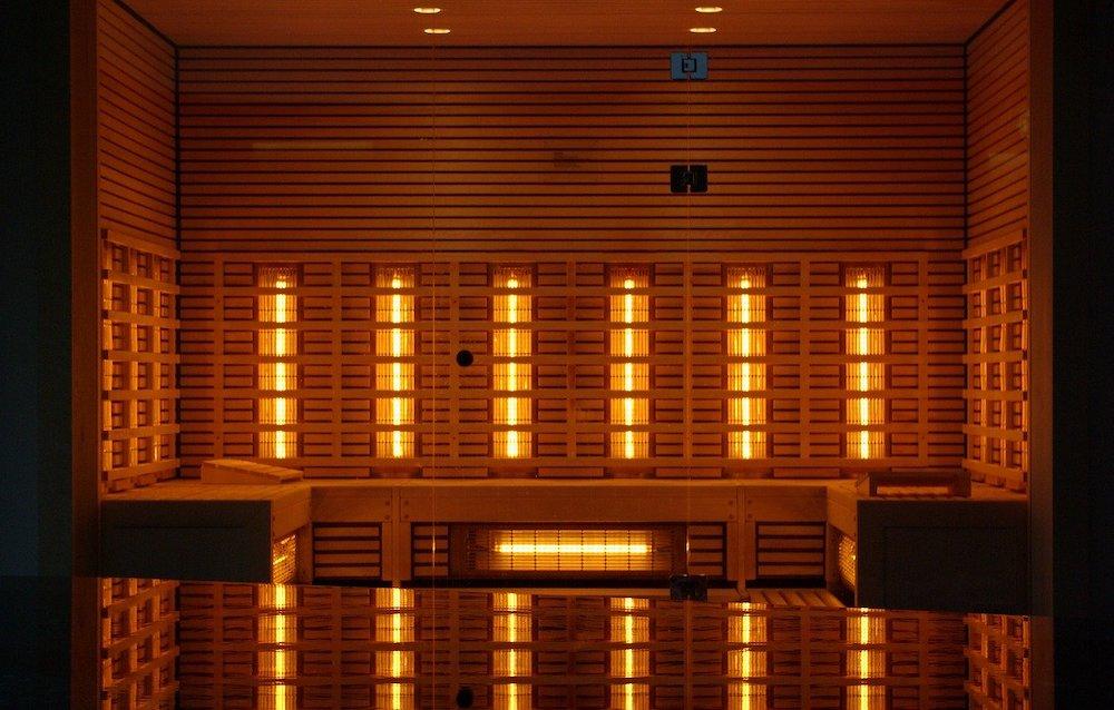 Gebruik van infrarood sauna